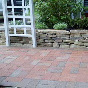 brick arbor