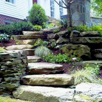 stone stairs Loudoun